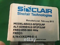Sinclair Technologies Inc. Lab Use 746-960 MHz 11.5dB omni-directional, SC-412
