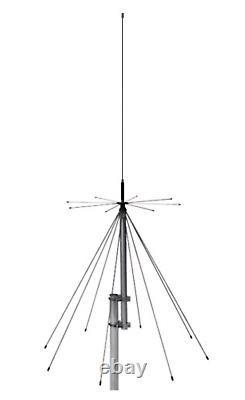 Sirio SD1300N 25-1300 Mhz Omni-Directional Discone Base Antenna N Connector
