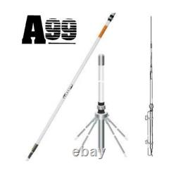 Solarcon A-99CK 17' Omni-Directional Base Antenna with Ground Plane Kit 2000 Watts