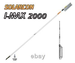 Solarcon Imax2000 24' Omni-Directional Fiberglass Base Station CB Antenna 5000W