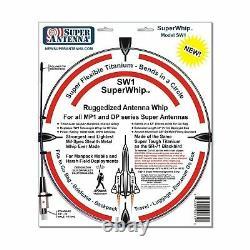 Super Antenna MP1DXMAX Dual HF Plus 2 Meter Bands SuperWhip Tripod All Band Set