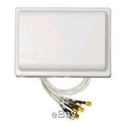 TerraWave 2.4-2.483/5.1-5.8GHz 2.5/4dBi MIMO Omni Antenna