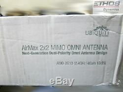 Ubiquiti Networks AirMax 2x2 MIMO OMNI ANTENNA 2.4GHz 13dBi