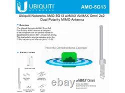 Ubiquiti Next-Gen 2x2 Dual Polarity MIMO Omni Antenna AMO5G13
