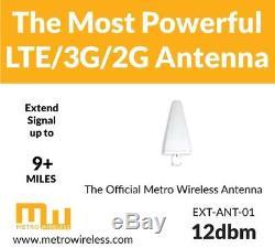 Ultra High Gain 12dbm Cellular Omni Antenna Booster for LTE 4G 3G 2G