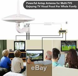 Upgraded Version ANTOP AT-415B 720° UFO Dual Dual Omni-directional Antenna