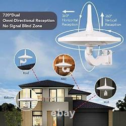 Upgraded Version ANTOP AT-415B 720° UFO Dual Omni-Directional Outdoor HDTV Ant
