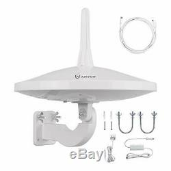 Upgraded Version AT-415B 720° UFO Dual Omni-Directional Outdoor HDTV Antenna