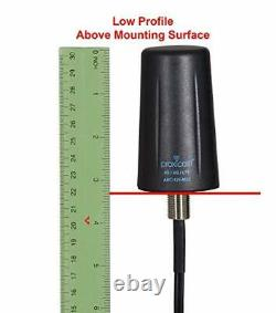 Vandal Resistant MIMO Low Profile 3G/4G/LTE Omni-Directional Screw Mount Antenna