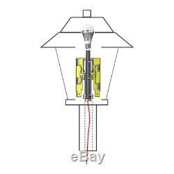 Ventev / TerraWave 2.4/5 GHz 6 dBi Wi-Fi Omni Light Globe Ant 4 Plug