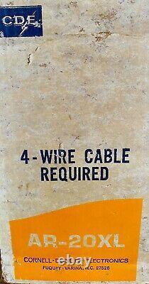 Vintage CDE Antenna Rotor AR-20XL NOS Sealed Box Ham CB Radio