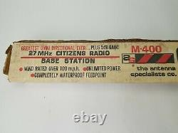 Vintage Starduster M 400 Antenna NOS Factory Sealed Omni Directional 27 MHz