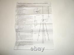 WORKMAN M400 STARDUSTER 10/11m CB AMATEUR BASE ANTENNA 7dBi GAIN 800W