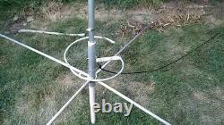 Workman W58 5/8 Wave Commercial Base Antenna With Ground Plane Kit 1500W